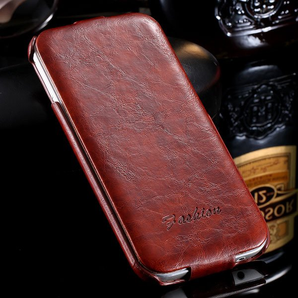 M8 Flip Case Full Protective Cover For Htc One M8 Premium Luxury P 32270427021-5-brown