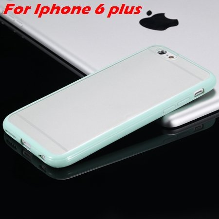 New Arrival Slim Colorful Tpu Clear Case For Iphone 6 4.7'' Phone  2018245815-14-Mint For I6 Plus