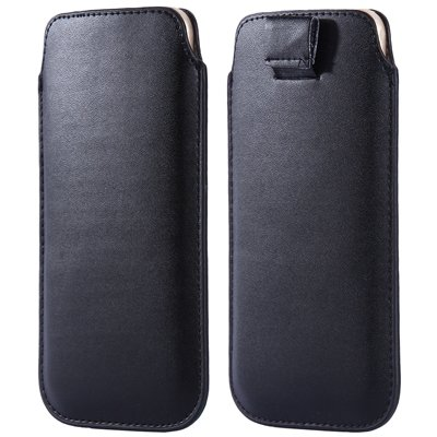 General Leather Case For Iphone 6 5S 4S For Samsung S5 S4 S3 For H 32265670970-1-Black