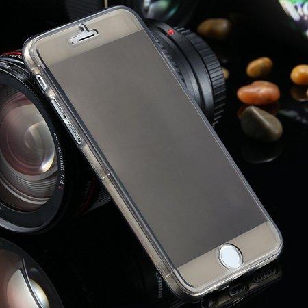 "Ultra Light Transparent Slim Tpu Soft Flip Case For Iphone 6 4.7""""  2032639495-1-Black"