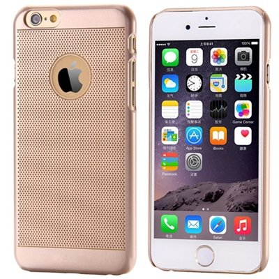 Ultra Thin Clear Crystal Pc Hard Transparent Case For Iphone 6 4.7 32222317027-4-Gold Dot