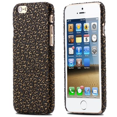 Super Luxury Classic 3D Flower Case For Iphone 6 Leather Case Pu H 32258483499-1-Black
