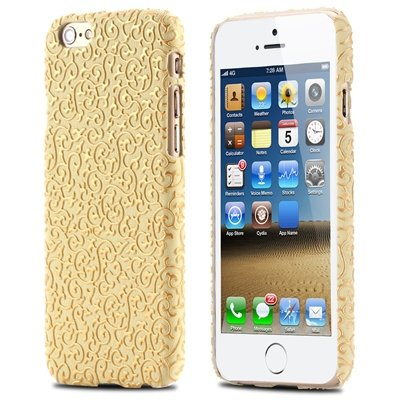 Super Luxury Classic 3D Flower Case For Iphone 6 Leather Case Pu H 32258483499-3-Yellow