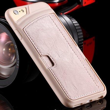 Vintage Luxury Soft Tpu + Pu Leather Case For Iphone 6 4.7Inch Sli 32262191617-6-Cream