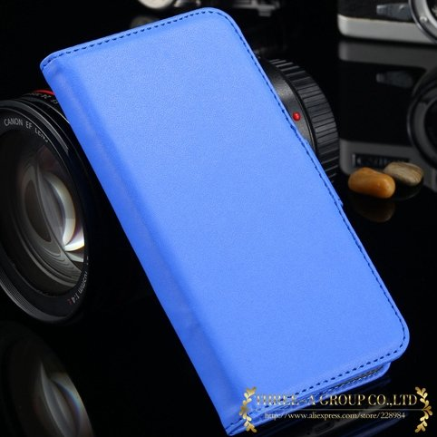 For Iphone 6 Flip Case Retro Luxury Stand Wallet Pu Leather Case F 2019025290-7-blue