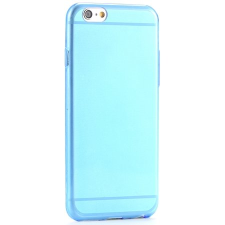 Pure Simple Flexible Transparent Soft Tpu Case For Iphone 6 4.7Inc 2039047120-4-Blue