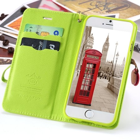 New Arrival Honey Girl'S Cherry Leather Phone Cases For Iphone 6 4 2054251345-4-Green