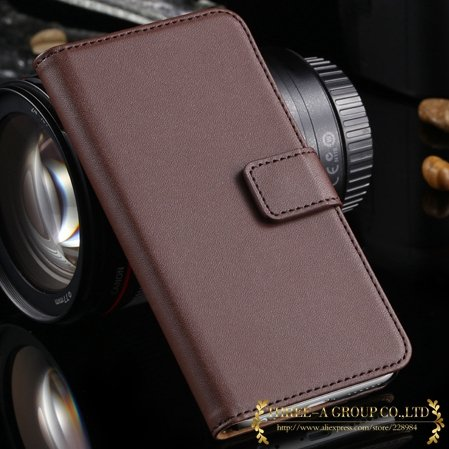 2015 New Retro Luxury Top Quality Genuine Leather Case For Iphone  2012727454-4-brown
