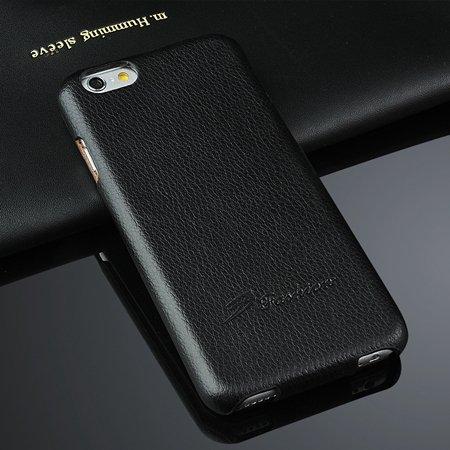 Retro Luxury Genuine Leather Case For Iphone 6 4.7Inch Lychee Patt 2045872907-2-Black