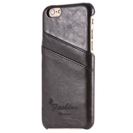 2015 Retro Luxury Grease Glazed Leather Case For Iphone 6 4.7Inch  2045443583-3-Black