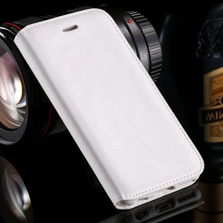 For Iphone 6 Leather Case Retro Luxury Hiden Magent Flip Pu Leathe 32266024632-2-White