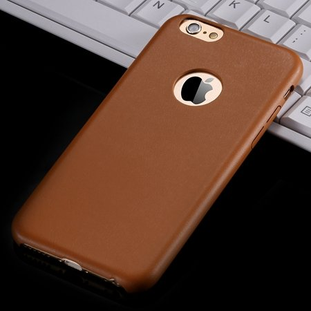 For Iphone 6 Hard Back Original Case Gold Luxury Pu Leather Case F 32271719815-1-Orange