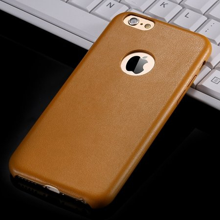 For Iphone 6 Hard Back Original Case Gold Luxury Pu Leather Case F 32271719815-2-Yellow