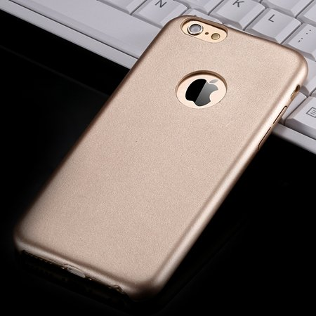 For Iphone 6 Hard Back Original Case Gold Luxury Pu Leather Case F 32271719815-6-Gold