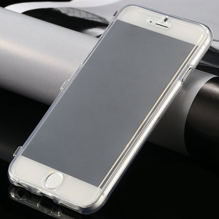 New Arrival Ultra Thin High Quality Flip Soft Tpu Case For Iphone  32226505236-2-White