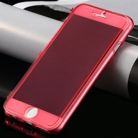 New Arrival Ultra Thin High Quality Flip Soft Tpu Case For Iphone  32226505236-3-Red