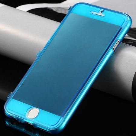 New Arrival Ultra Thin High Quality Flip Soft Tpu Case For Iphone  32226505236-4-Blue