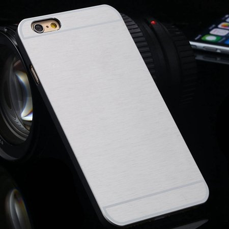 "Newest Luxury Aluminum Metal Brush Case For Iphone 6 4.7"""" Cell Pho 2050897523-8-Sliver"