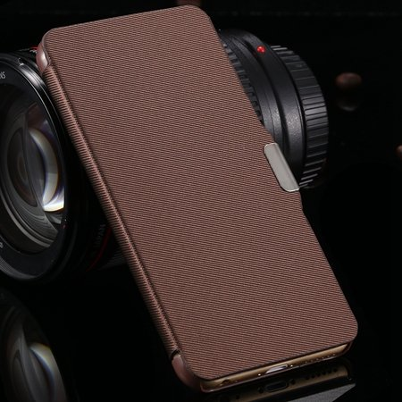 Cool Sexy Top Quality Book Design Pu Leather Case For Iphone 6 4.7 2037954151-6-Brown