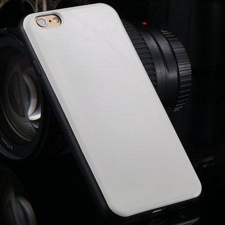 "New Arrival Unique Back Leather Case For Iphone 6 4.7"""" Protective  2046746785-2-White"