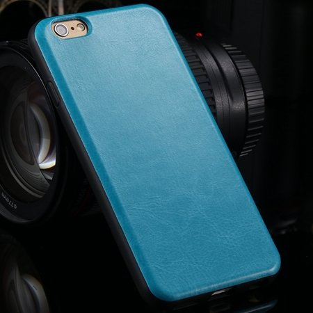 """New Arrival Unique Back Leather Case For Iphone 6 4.7"""""""" Protective  2046746785-4-Blue"""