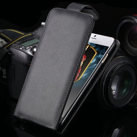 For Iphone 6 Case Retro Luxury Vertical Flip Pu Leather Case For I 32267677876-1-Black