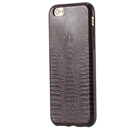 "Vintage Elegent Soft Feeling Leather Case For Iphone 6 4.7"""" Cell P 32259366040-4-Brown"