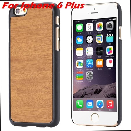 """Luxury Retro Wood Grain Hard Case For Iphone 6 4.7"""""""" Deluxe Fashion 32253933772-9-Yellow For I6 Plus"""