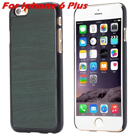 """Luxury Retro Wood Grain Hard Case For Iphone 6 4.7"""""""" Deluxe Fashion 32253933772-13-Green For I6 plus"""