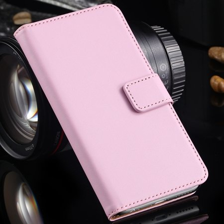 2014 Newest Retro Stand Wallet Genuine Leather Flip Cellphone Case 2027646671-3-Pink