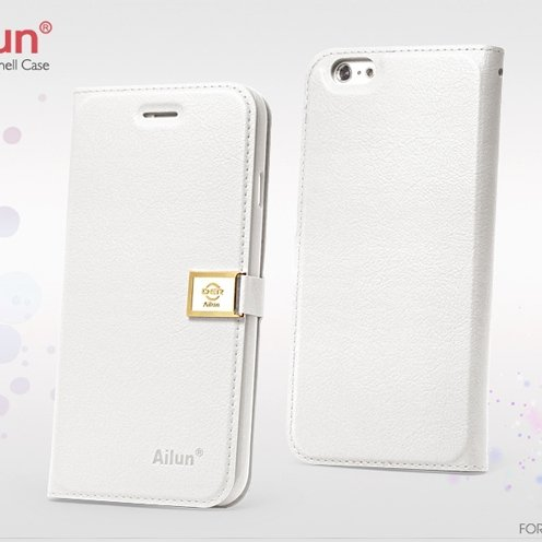 For Iphone 6 Case Retro Luxury Pu Leather Case For Iphone 6 4.7Inc 32262101666-2-White