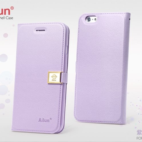 For Iphone 6 Case Retro Luxury Pu Leather Case For Iphone 6 4.7Inc 32262101666-7-Purple