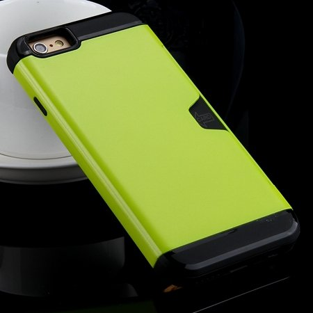 For Iphone 6 Case High Quality Korean Style Tpu + Pc Hybird Armor  32276148973-7-Green