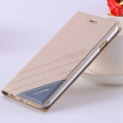 Retro Luxury Flip Pu Leather Case For Iphone 6 4.7Inch Original Ts 32265690549-5-Gold