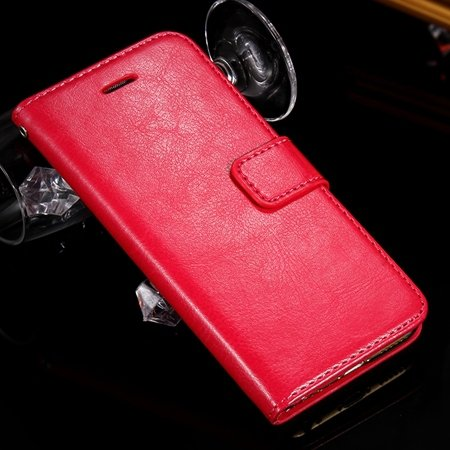 2015 Newest Luxury Convenient Stand Wallet Flip Pu Leather Case Fo 2045572300-4-Hot Pink