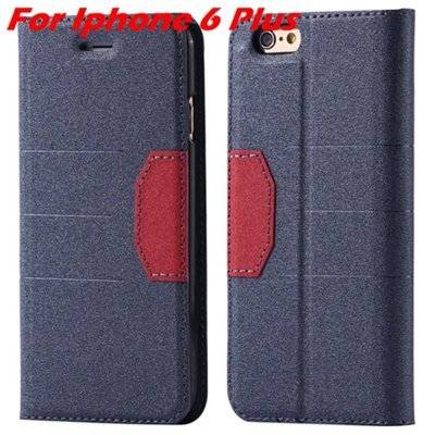 Cool Soft Feeling Pu Leather Case For Iphone 6 / Iphone 6 Plus Fli 32255922393-3-Black For Iphone 6