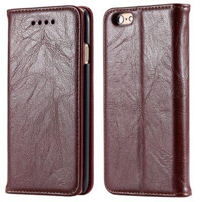 Soft Feel Original Pu Leather Case For Iphone 6 Flip Case Book Sta 32253957865-1-Brown