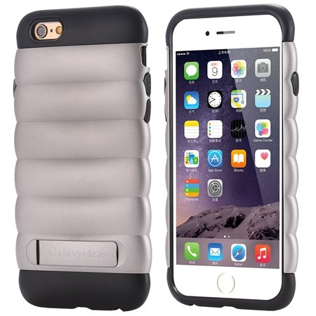 Cute Luxury Pc+ Tpu Hybird Armor Case For Iphone 6 4.7Inch Mobile  32302464039-2-Dark Gray