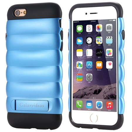 Cute Luxury Pc+ Tpu Hybird Armor Case For Iphone 6 4.7Inch Mobile  32302464039-5-Sky Blue