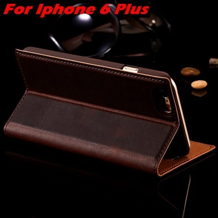 Vintage Deluxe Top Quality Genuine Leather Case For Iphone 6 / Iph 32290522424-2-For Iphone 6 Plus