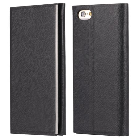 For Iphone 6 Leather Case Luxury Tendon Genuine Leather Case For I 32264069515-3-Black