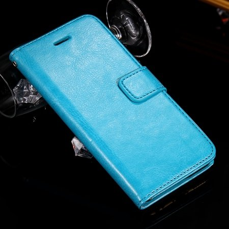 For Iphone 6 Filp Case Retro Luxury Men Women Pu Leather Case For  2045546292-6-Sky Blue