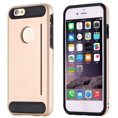 Gold Luxury Slim Skin Kick-Stand Hard Back Case For Iphone 6 4.7In 32265626720-4-Gold