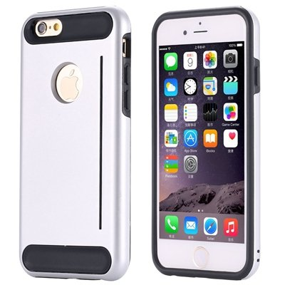 Gold Luxury Slim Skin Kick-Stand Hard Back Case For Iphone 6 4.7In 32265626720-5-Sliver