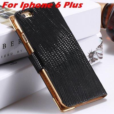 For Iphone 6 Diamond Case Girl'S Cute Luxury Bling Rhinestone Pu L 32266230500-6-Black For I6 Plus