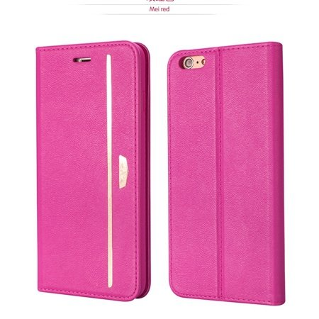 Gold Luxury Pu Leather Case For Iphone 6 4.7Inch Phone Cases Origi 2055651879-4-Hot Pink