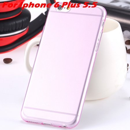 """High Quality Soft Back Cover Shell For Iphone6 4.7"""""""" Ultra Light Cl 32222098041-16-Pink For I6 Plus"""