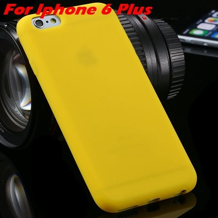 For Iphone 6 Tpu Case Cindy Color Cute Soft Silicone Case For Ipho 2051373334-18-Yellow For I6 Plus
