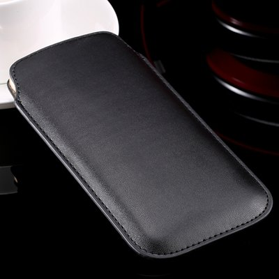 High Quality General Leather Case For Iphone 6 Plus 5 4 /For Samsu 32266775748-1-Black