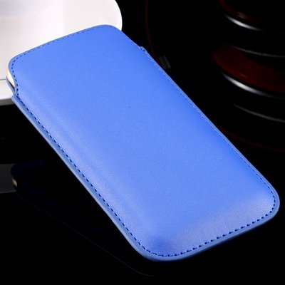 High Quality General Leather Case For Iphone 6 Plus 5 4 /For Samsu 32266775748-4-Blue